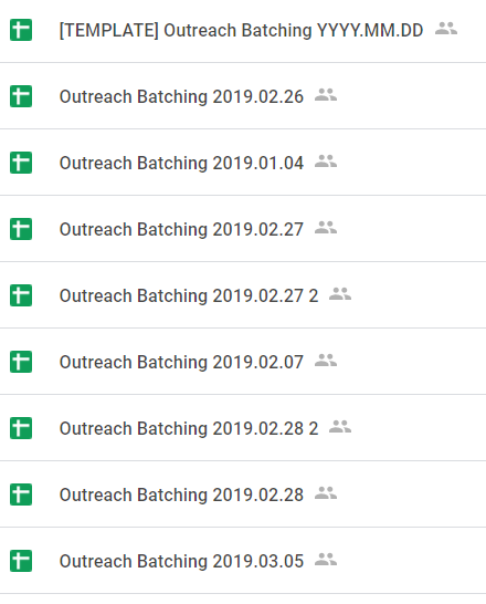 data management and outreach